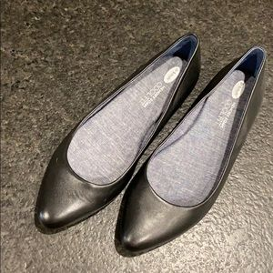 Black point toed Dr Scholls Shoes - Worn once!